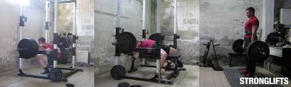 Where Can I Buy A Bench Press Stronglifts 5 5 Workout Program For Begginers Stronglifts