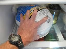 start now if thawing a frozen turkey in the fridge gotta eat