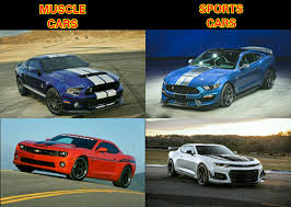 New Muscle Cars - chad asked us about cars that are called muscle cars but are not
