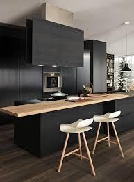 cuisine gris et noir beautiful cuisine bois et noir ideas design trends 2017 gris