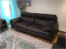 canapé cuir ligne roset fauteuil duvivier 594097 canapé en cuir noir 3 places duvivier