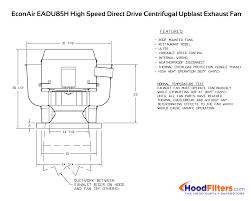 2000 cfm exhaust fan 2000 cfm direct drive upblast exhaust fan with 15 75 wheel 75 hp
