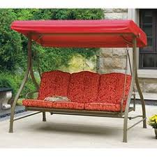 porch swings at walmart com 0 red 10 patio swing cushions home