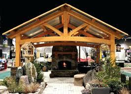 Timber Frame Barn Homes Timber Frame Pavilion Kits U2013 Instavite Me