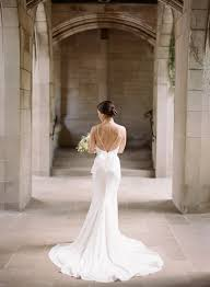 backless wedding dress backless wedding dresses 17 real brides in swoon worthy backless