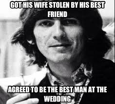 Memes About Smoking Weed - george harrison the ultimate nice guy smoking weed meme by yoda004