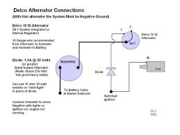 one wire alternator conversion diagram diagram wiring diagrams