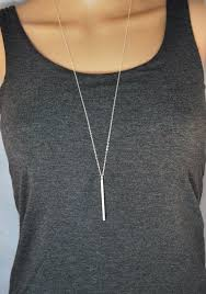 long necklace silver images New trend goes classy with long necklaces bingefashion jpg