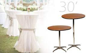 cocktail table rental tables