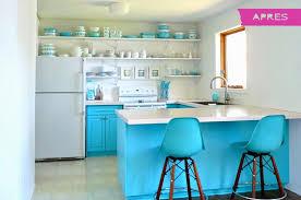 cuisine bleu turquoise cuisine mur bleu turquoise chaios com