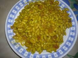 cuisiner les flageolets flageolets aux poires raisins secs et curcuma la santé est au