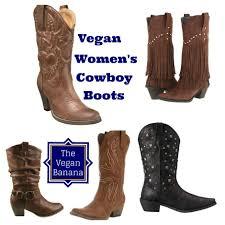womens boots vegan vegan s cowboy boots the vegan banana