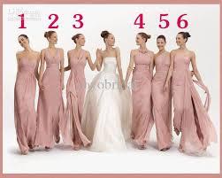 cheap pink bridesmaid dresses bridesmaid dresses 2017 fashion light pink chiffon cheap