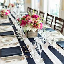 black and white table runners cheap 10pcs 14 x 108 wide black and white striped chiffon table runner