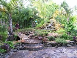 Tropical Backyard Designs Tropical Landscape Tropical Landscaping With Emphasis On Palm Mr