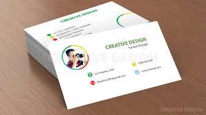 business card design 2 photoshop tutorials