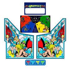 arcade cabinets gauntlet atari 1985 2 warps to neptune