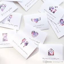 wedding gift card message theme folding message card with envelope s day