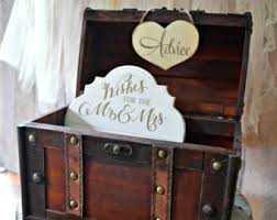 Wishes For The Bride And Groom Cards Advice Card Box Etsy