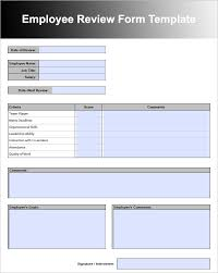 employee evaluation form in pdf staff employee performance