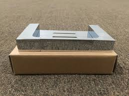 ettore square polished chrome bathroom soap dish holder