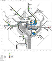 Dc Metro Blue Line Map by Why U2014 And At What Stations U2014 Metro Expects Ridership To Grow The