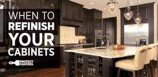 when you should refinish your cabinets