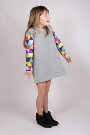 the kids cotton pocket dress labour of love
