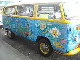 volkswagen van art only in puna hopper u0027s hippie art mobile hawaii news and island