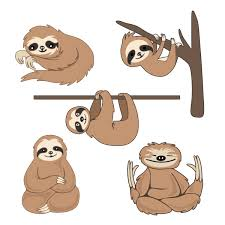 sloth pack cuttable design