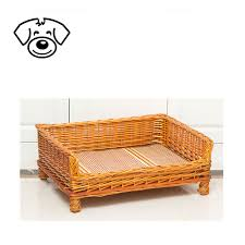 wicker dog bed basket wicker dog bed basket suppliers and