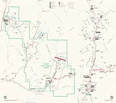 Usa National Parks Map by Zion National Park Usa Map Map Travel Holiday Vacations