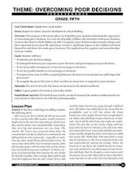 making good choices lesson plans u0026 worksheets reviewed by teachers