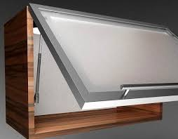 Kitchen Cabinet Lift Hydraulic Lift Up System Aluminum Glass Cabinet Doors