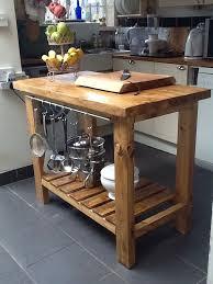 oak kitchen island cart solid wood kitchen island cart inspirational handmade rustic