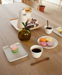 Beautiful Coffee Coffee Set With A Wooden Tray By Luca Nichetto Interiorzine