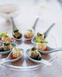 Dinner Party Hors D Oeuvre Ideas International Party Foods Martha Stewart