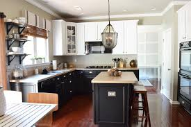 Kitchen Island With Butcher Block by Kitchen Create Your Stylish Kitchen Workspace With Pottery Barn