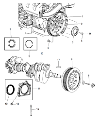 jeep jk suspension diagram crankshaft crankshaft bearings damper flexplate and flywheel for
