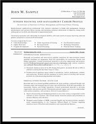 personal trainer resume personal resume trainer should explain an expertise area