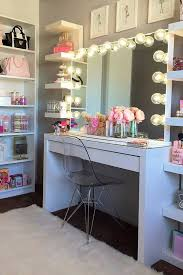 Makeup Table Table Magnificent Vanity Desk With Lighted Mirror 36 Cool Ideas