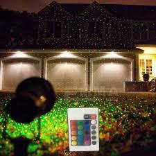 and green laser lights lights garden decorative