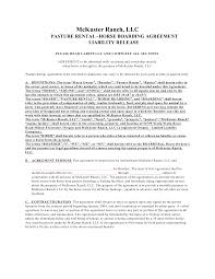 10 best images of horse farm lease agreement template horse