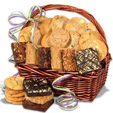Cookie Basket Delivery Birthday Gift Delivery To Spain Baked Goods