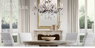 Crystal Light Fixtures Dining Room - crystal chandeliers rh