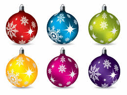 christmas ornaments colorful christmas ornaments vector free vector graphics