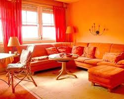 Curtain Color For Orange Walls Inspiration Orange Bedroom Curtains Openasia Club