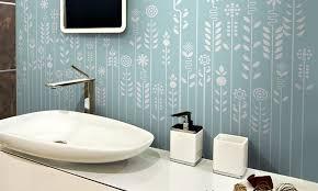 tapeten badezimmer wohnideen wandgestaltung maler wandgestaltung mit designer