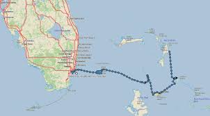 Blank Map Of The Bahamas by Island Hopping Back To The U S U2013 Our Life Aquatic
