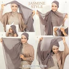tutorial hijab turban ala april jasmine tutorial hijab segi empat april jasmine tutorial hijab paling